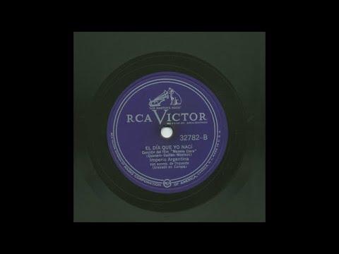 Imperio Argentina - El Día Que Yo Nací - Victor 32782-B