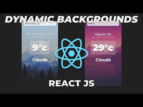 Build a Weather App in React JS | React JS beginner Tutorial