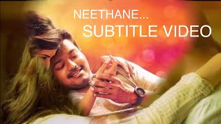 Neethane Mersal Song With Meaning