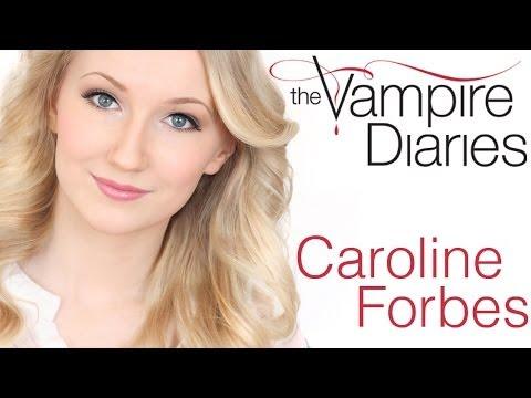 The Vampire Diaries Caroline Forbes Hair Makeup Look