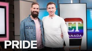 Brock McGillis Talks Use Of Homophobic Slurs In NHL | ET CANADA PRIDE