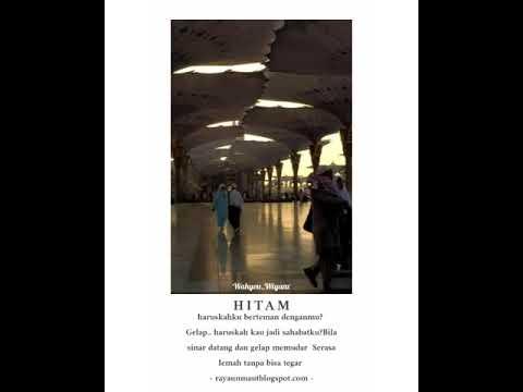 HITAM #literasi15+ Literasi30detik