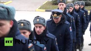Russia: Funeral held for Su-24 rescue op marine Alexander Pozynich