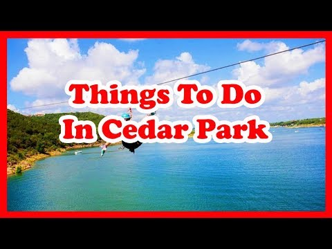6 Best Things To Do In Cedar Park, Texas | US Travel Guide