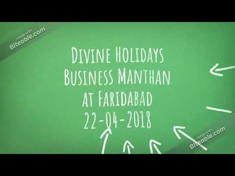 Divine Holidays Business Manthan