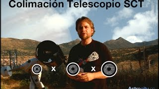 Colimar un telescopio Schmidt Cassegrain en 5 minutos