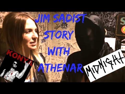 Athenar on meeting Jim Sadist of Nunslaughter