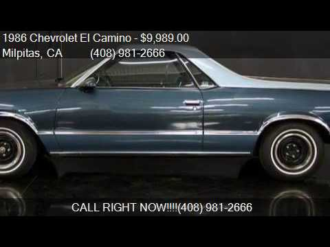 1986 Chevrolet El Camino CONQUISTA for sale in Milpitas, CA