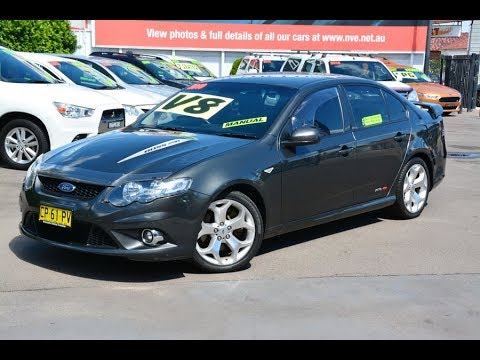 2010 Ford FG XR8 Falcon 6 Speed Manual for sale at Newcastle Vehicle Exchange