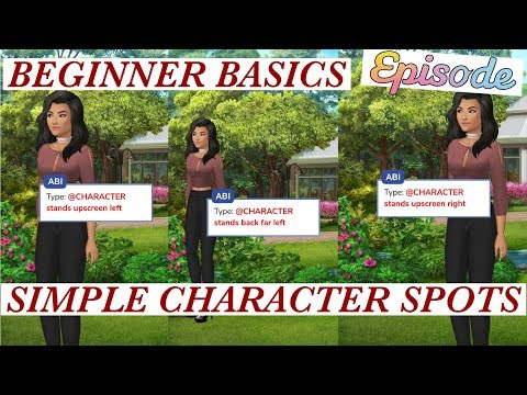 Beginner Basics: Placing Your Characters - Stand/Sit | Episode Interactive