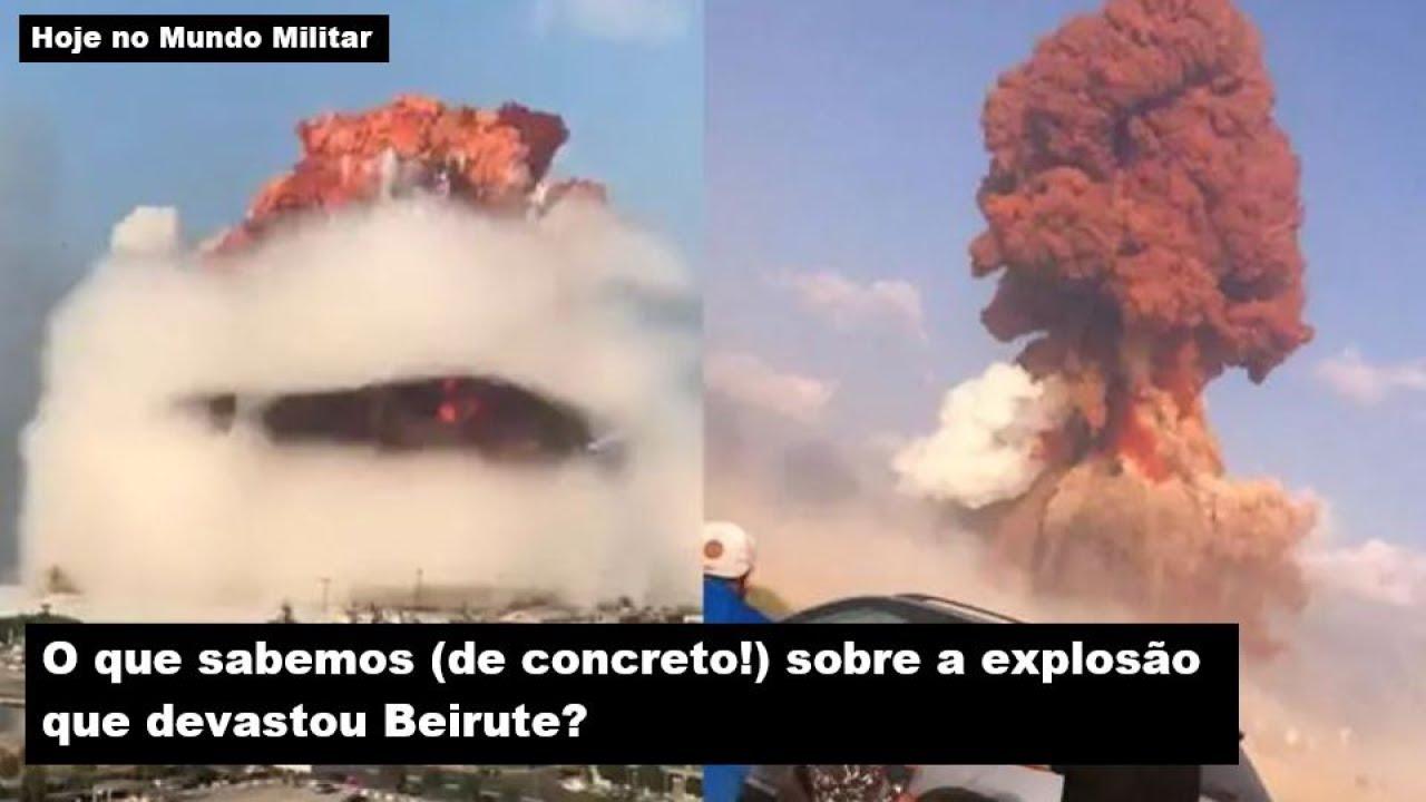 O que sabemos (de concreto!) sobre a explosão que devastou Beirute?