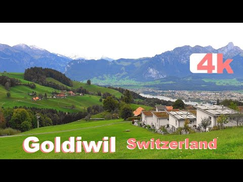 SWITZERLAND - Suiza - GOLDIWIL - OBERHOFEN - SIGRISWIL - BEATENBERG - Lungern - Grindelwald - 4 K