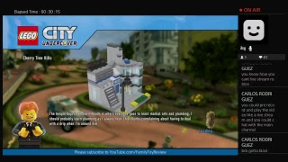 Lego city undercover Gameplay with everyone Live Broastcast PS4 Family Game Review