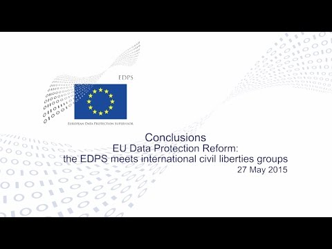 Conclusions - EDPS meets international civil liberties groups