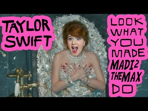Taylor Swift Look What You Made Me Do PARODY - Madi2theMax