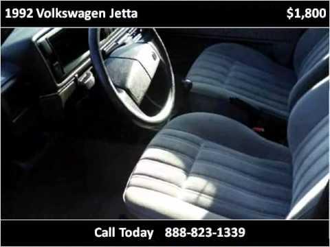 1992 Volkswagen Jetta Used Cars Philadelphia PA