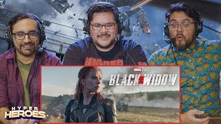Black Widow - Official Teaser Trailer Reaction