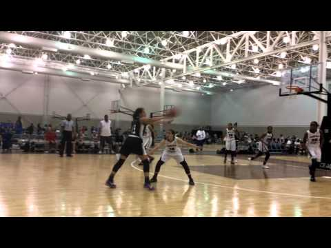 Fairfax Stars c/o 2018-21 Girls 15U (white) vs. Iowa Barnstormers 15U (black)