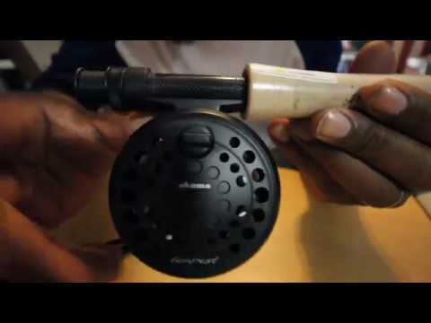 Okuma Tempest Fly Rod And Reel Combo Unboxing