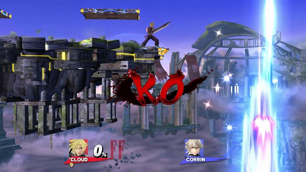 Street Fighter 4 K O  [Super Smash Bros  (Wii U)] [GUI Mods]