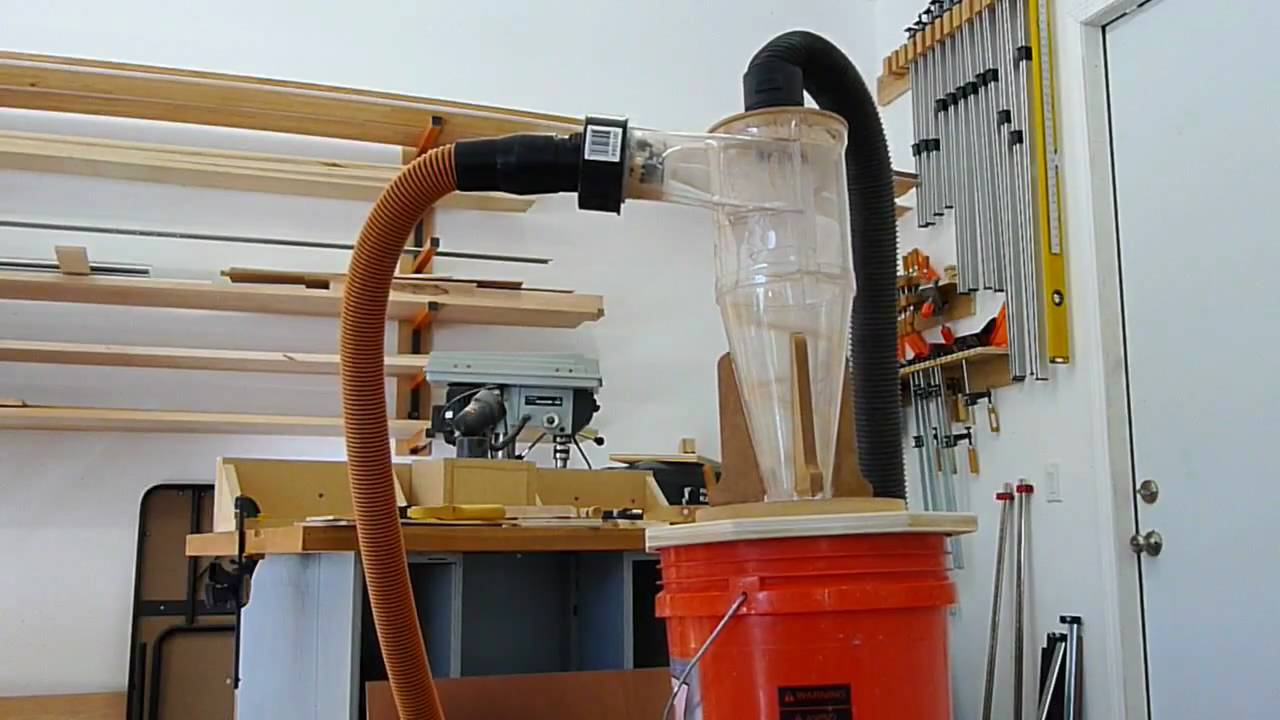Shop Vac Cyclone Wood Working Youtube
