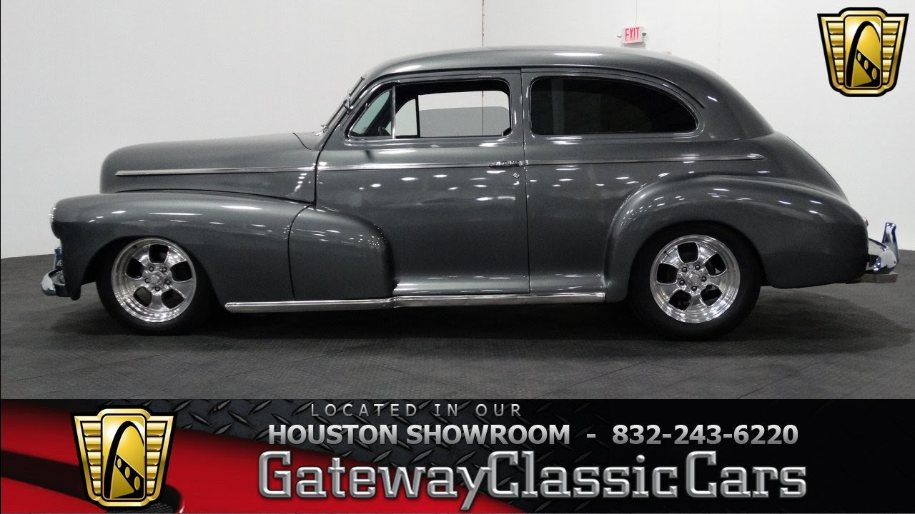 1946 Chevrolet Sedan - #328 - Gateway Classic Cars of Houston - YouTube