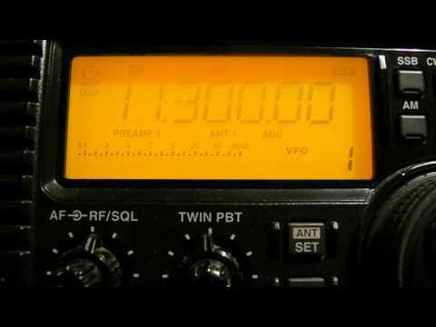 11300khz,Tripoli Radio.