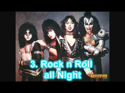 Top 5 Mis Canciones Favoritas de Kiss
