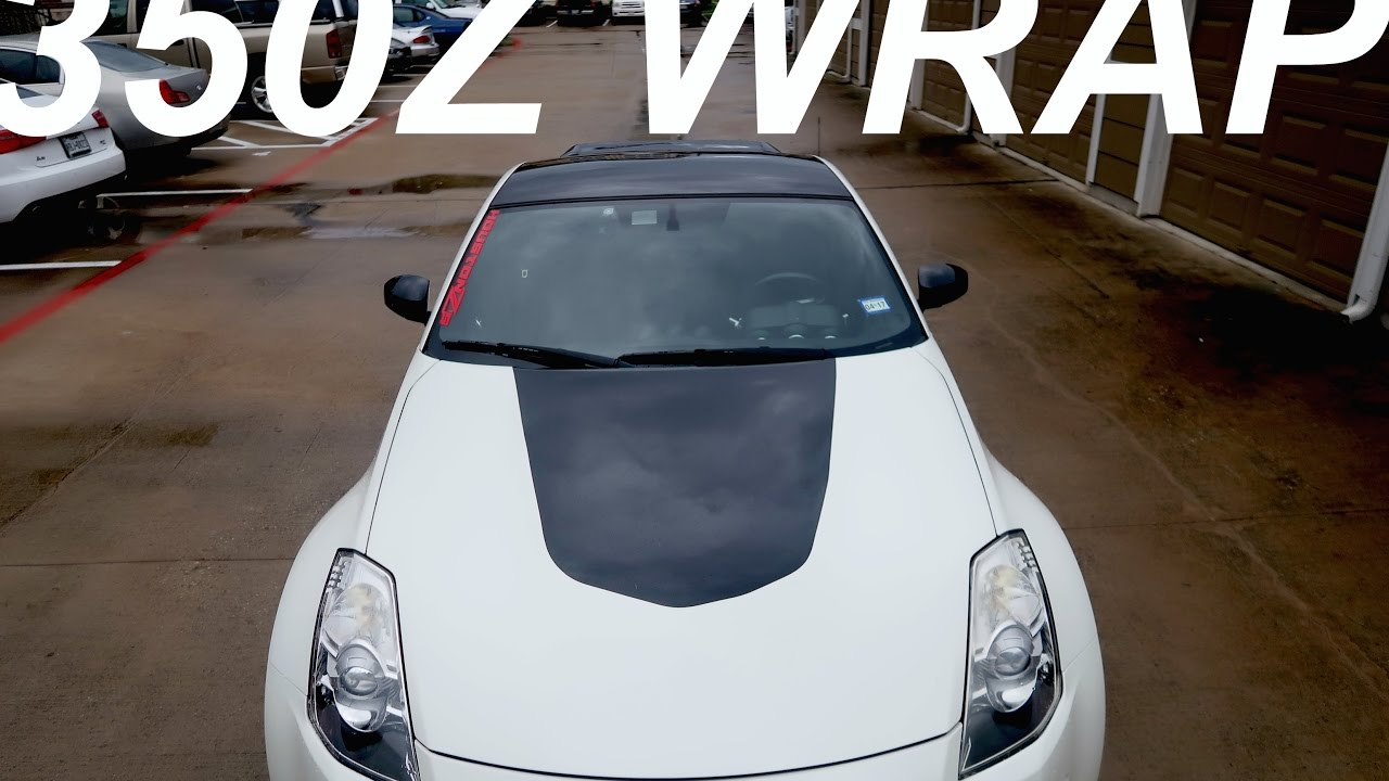 350z Wred In Gloss Black