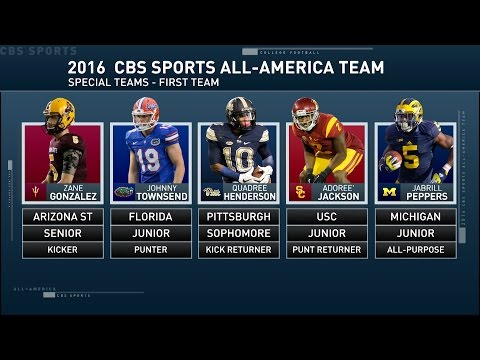 Inside College Football: All-American special teams