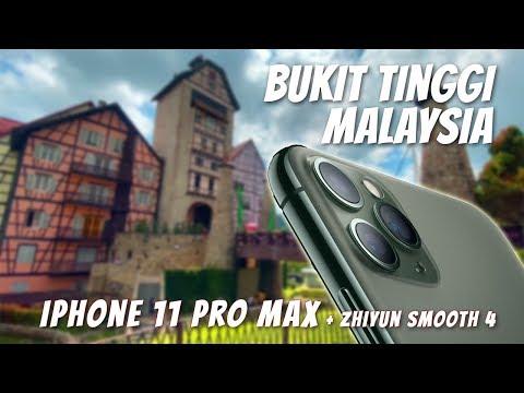 Bukit Tinggi Malaysia (iPhone 11 Pro Max + Zhiyun Smooth 4 Video Footage)