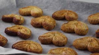 Как приготовить печенье из слоеного теста