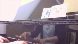 YUKI坂道のメロディ(Full Size)坂道のアポロンOP ピアノ耳コピ