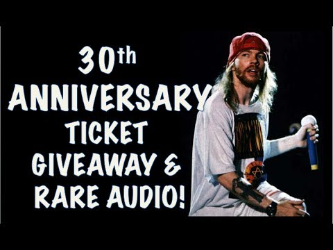 Guns N' Roses News: Ticket Giveaway for Apollo Show & Rare 2016 Footage!
