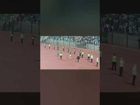 Bloemfontein Celtics supporters singing praises to their former player Mark Mayambela❤️⚽️