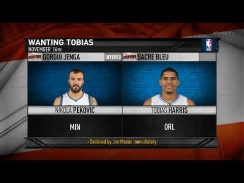 NBA Daily Show: Nov. 18th – The Starters