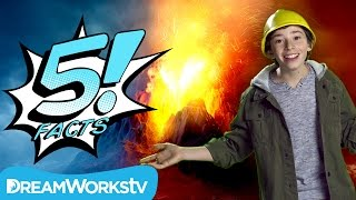 5 Explosive VOLCANO Facts | Nerf presents 5 FACTS