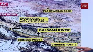 India-China Standoff Explained Wİth Unseen Maps Of LAC
