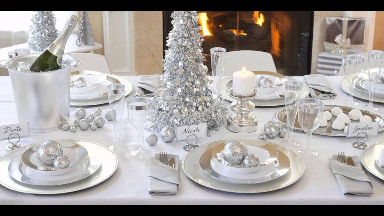All white party decoration ideas