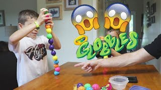 Twin vs Twin:  Globbles!  Fun Family Toy for Kids