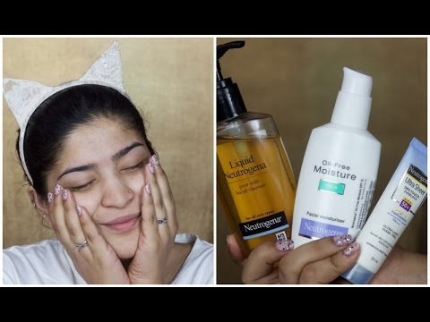 One Brand Skincare Routine | Neutrogena | Everyday Easy Skin Routine