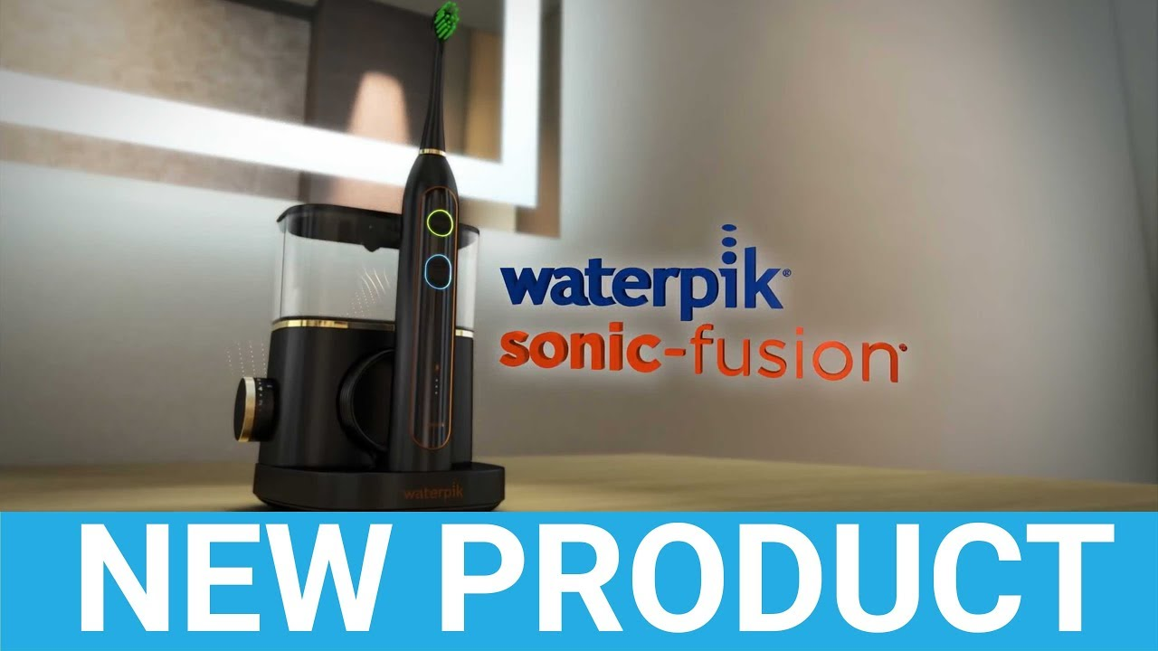 Waterpik Sonic-Fusion (SF-02) Flossing Toothbrush