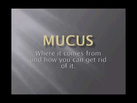 how to get rid of rinaris mucus