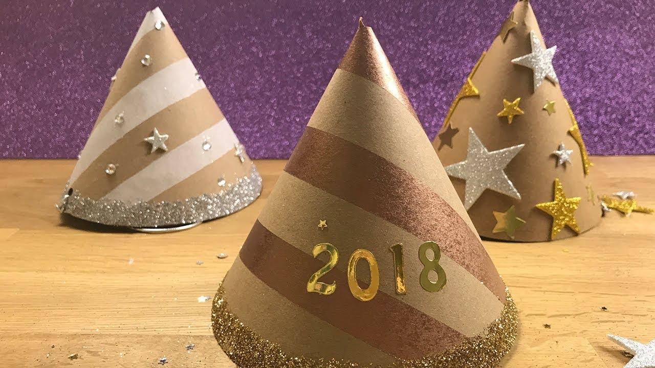 Cappellini per il veglione di Capodanno - Tutorial - YouTube c1df5e9138d8