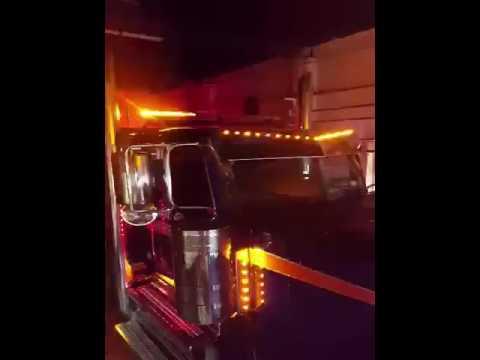 Custom dual color light bar amber and blue superior led tow truck custom dual color light bar amber and blue superior led tow truck wrecker roll back aloadofball Images