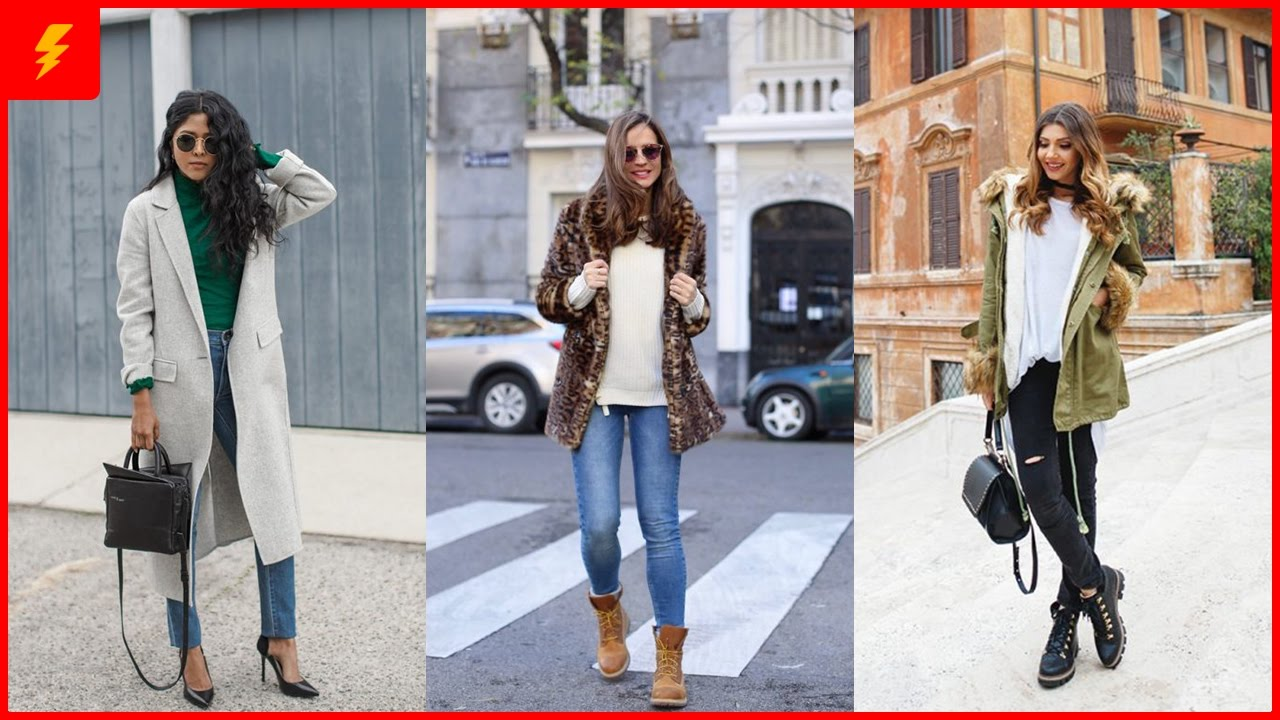How To Wear Street Style Outfits For This Winter Youtube