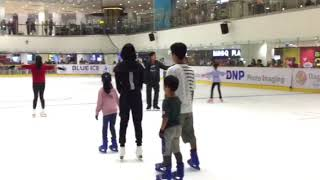 Figure skating lesson 2 by Ando Miki & Julian @Paradigm  mall