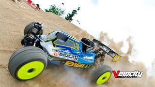 losi 1 8 4wd 8ight rtr gas buggy vrc magazine quick review