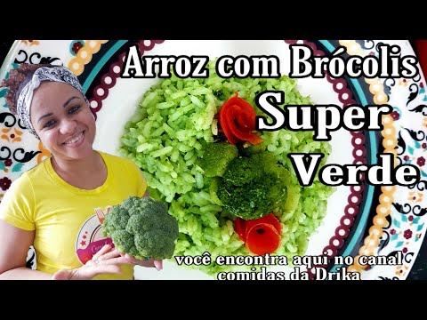 Arroz Com Brócolis Super Verde #Natal #Anonovo