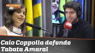 Caio Coppolla sai em defesa de Tabata Amaral